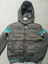 Next Boys' Polyester Coats, Jackets & Snowsuits (2-16 Years) with Hooded