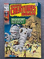 Marvel Where Creatures Roam #8 Bronze Age
