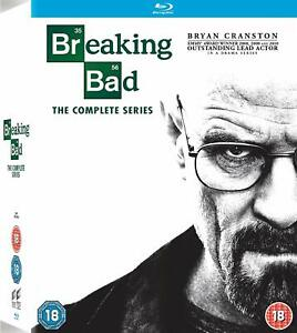 BREAKING BAD The Complete Series BLU-RAY Box Set BRAND NEW Free Ship