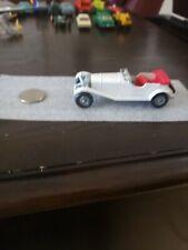 Vintage Matchbox Lesney Models of Yesteryear White Mercedes 36/220  NM gray hubs