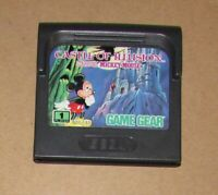 Castle of Illusion Starring Mickey Mouse for Sega Game Gear Authentic