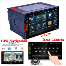 "2DIN 7"" Auto Car MP5 Player GPS Navigation Bluetooth Touch FM Stereo Radio + Cam"