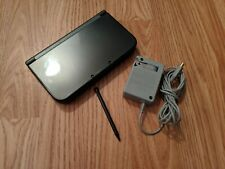 Nintendo New 3DS XL 4GB Handheld System - Black Top Screen IPS Tested and Works