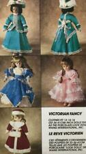 """DOLL CLOTHES Sew pattern McC 6282~Victorian Fancy Gown+Suit++~Fits13-14-16""""~UC"""