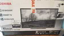 """Toshiba 24D3753DB - 24"""" LED Smart TV with DVD Player"""