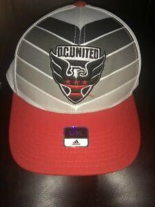 MLS D.C. United Adidas Structured Flex City Hat L/XL Wayne Rooney