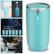 Portable Usb Led Light Air Humidifier Diffuser Aroma Mist Purifier Car Home Usa