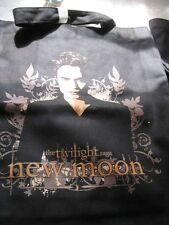 Edward Cullen Twilight Saga New Moon Black Fabric Printed Carry Tote Gift Bag