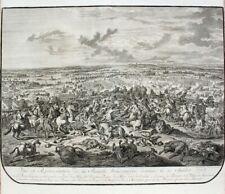 Schlacht Oudenaarde Audenarde 1708 Prinz Eugen Marlborough Kavallerie Flandern