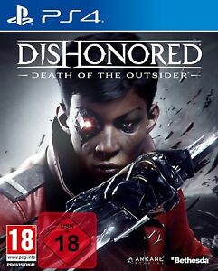 PS4 Dishonored 2 Der Tod des Outsiders 100% Uncut  Playstation 4 NEU OVP