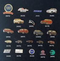 FIAT Pin Abzeichen 1980er bis 2000er Jahre AUSSUCHEN