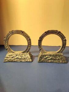 "lot of 2 Stargate Universe Gate/Model/Ring replica - 5 1/2"" ring"