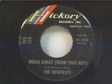 """NEWBEATS """"BREAK AWAY (FROM THAT BOY) / HEY-O-DADDY-O"""" 45"""