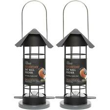 2 x Tom Chambers Everyday Fat Ball Feeder, Food, Heavy Duty, Hanging, Easy Fill