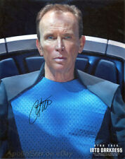 Star Trek Peter Weller 'Admiral Marcus' 8X10 Color Photo ~ Signed