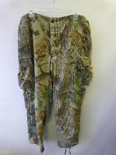 mens Realtree camouflage cargo hunting trousers combat pants sz 35 -39 x 32 EUC