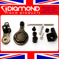 DIAMOND RACE PRODUCTS - STEERING DAMPER FITTING KIT FOR 2008 08 YAMAHA R6 MODELS