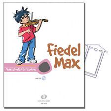 Fiedel-Max für Violine Vorschule - ViolinSchule,CD,NK - VHR3800 - 9783920470412
