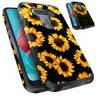 For LG K51 K40 K12 Plus K10 K31 Aristo 5 Plus Case Dual Layer Floral Phone Cover