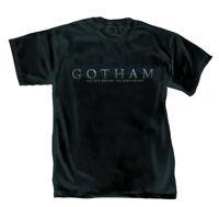 DC Comics Gotham Logo Mens Black T-Shirt