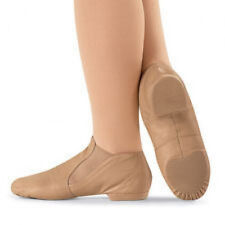 Capezio CG05 Adult Size 4M (Fits Size 2.5) Suntan Slip On Jazz Boot (USA Design)