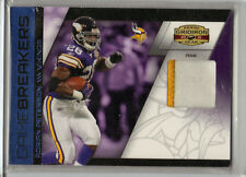 Adrian Peterson 2 Color Jersey  Card # 48 / 50  Vikings Oklahoma