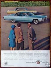 Original 1967 Advertisement CADILLAC