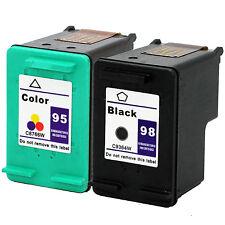 2PKs HP 98 95 Ink DeskJet 5940 5940xi OfficeJet 6300 6301 6305 6310 6315 6310xi