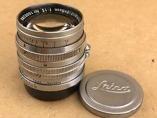 Leica 5cm f/1.5 Summarit LEITZ WETZLAR #1000288 50mm Lens w/ caps