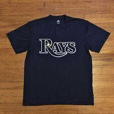 Tampa Bay Rays Majestic MLB Baseball Shirt L
