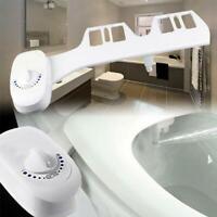 Toilet Seat Attachment Bathroom Water Spray Non-Electric Mechanical Bidet Supply