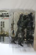 McFarlane Military Redeployed Marine Recon Sniper Action Figure FREE SHIP