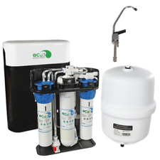 Eco3 Complete Reverse Osmosis System With Tank, Faucet, Covers - Install Parts!