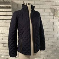 J. Crew Quilted Tack Jacket NAVY, XxSmall