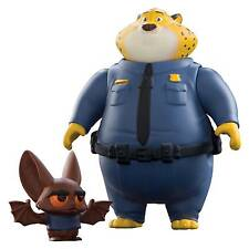 TOMY Disney Zootropolis Character Pack Clawhauser and Bat Eyewitness