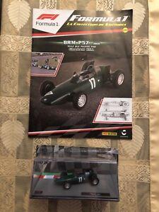 Formule 1 1/43 Formula One F1 BRM P57 1962 Graham Hill model car auto Panini Ixo
