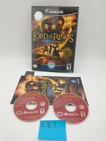 Lord of the Rings: The Third Age (Nintendo GameCube, 2004) Complete with Manual