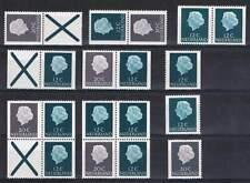 Alle combinaties uit PB07F (10 stuks) Postfris MNH