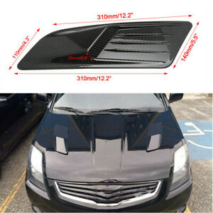 Intake Car Auto SUV Pickup Air Flow Vent Bonnet Hood Scoop Cover Trim Universal