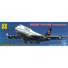 Boeing 747-400 Lufthansa American Jet Airliner Model Kits scale 1:300