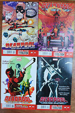 DEADPOOL #11-14 (2012 Series) all 1st prints & NM or better