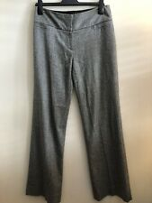 Phase Eight Size 10, Straight Leg, Tweed Style Trousers, Wool/Silk/Other Mix