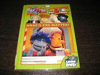 Los Lunnis English Per Tutti DVD + Film What ´ S The Matter? Sigillata Nuovo