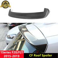 F20 Roof Spoiler Top Wing for BMW 120i 125i M140i 2015+ 3D Style Carbon Fiber