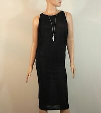 Giambattista Valli Black Mesh Dress Size 40 $1545