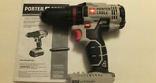 "PORTER CABLE PCC601 20V 20 VOLT MAX 2 Speed Lithium Ion 1/2"" Drill Driver"