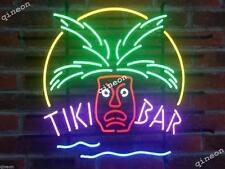 Rare New Style Tiki Bar Open Totem Pole Logo Real Neon Sign Beer Bar Light