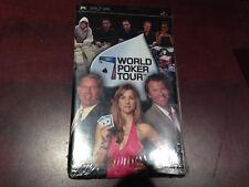 World Poker Tour -- NEW/SEALED -- (Sony PSP, 2006)