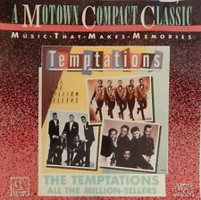 The Temptations - All the Million-Sellers (CD 1987 Motown) VG++ 9/10