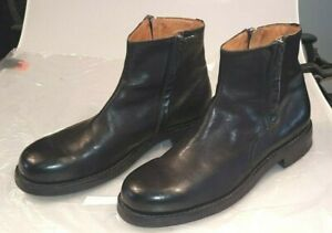 Pantanetti wie moma  Herren-Leder Boots , schwarz Größe 45 St. Moritz TOP NP385